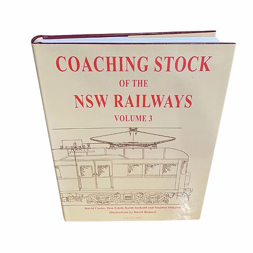 Coaching stock of the NSW Railways- Volume 3