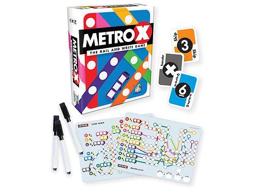 Metro X - The Rail and Write Game