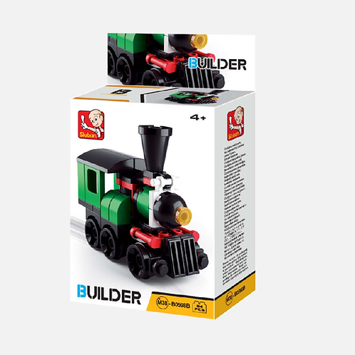 Builder Train - 54 Pieces