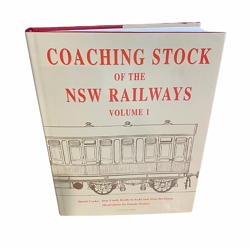Coaching stock of the NSW Railways - Volume 1