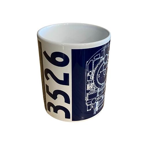 Locomotive 3526 Mug