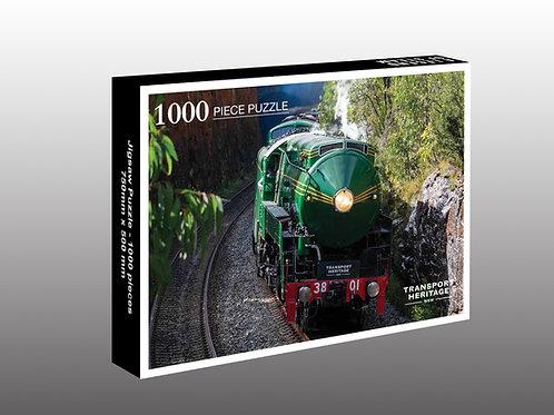 Locomotive 3801 - Yerrinbool tunnel 1000 piece puzzle (Pre order)