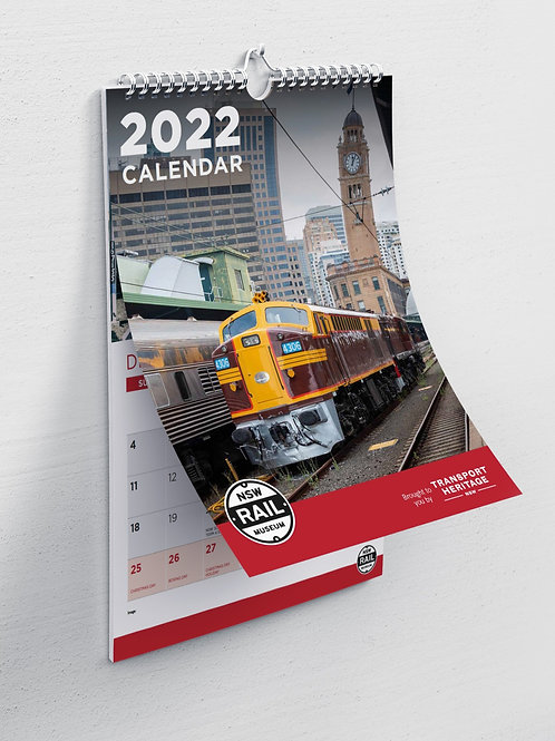2022 NSW Rail Museum Calendar
