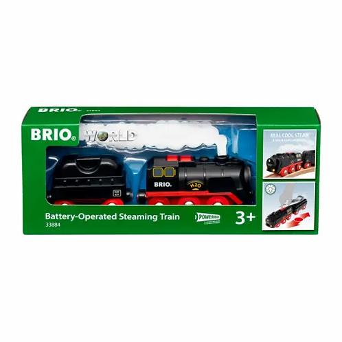 BRIO B/O - Steaming Train 3 pieces