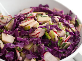 Apple Slaw for Winter