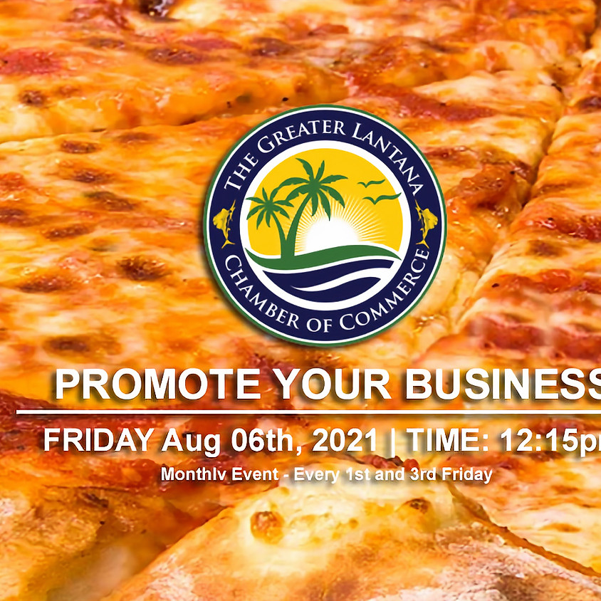 Promote Your Business Luncheon 08/06