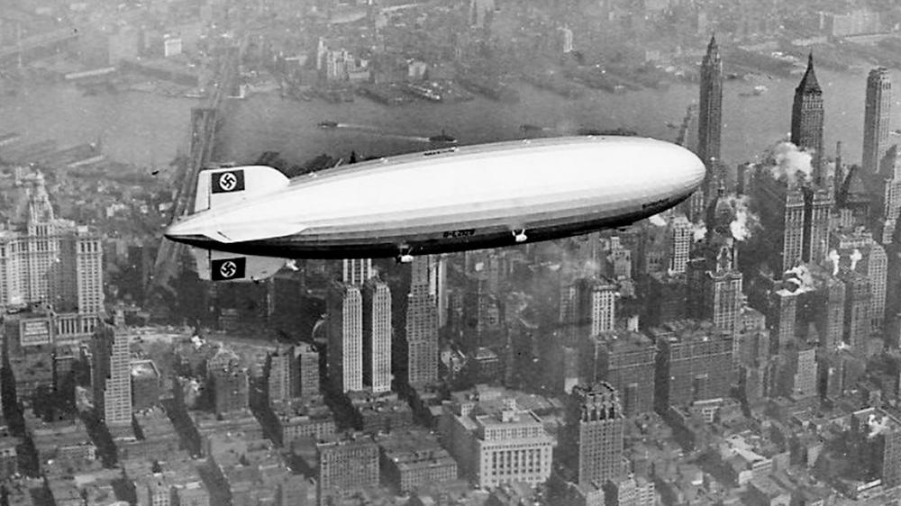 O Hindenburg, maior nave já voada no planeta