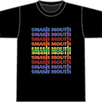 Smash Mouth Rainbow Tee