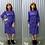 Thumbnail: Purple 70s Muu Muu Dress