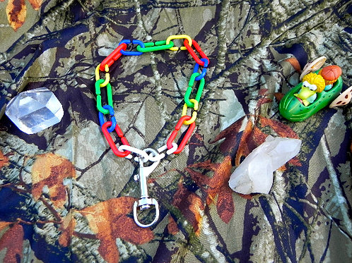 Rainbow Bolt Snap Choker