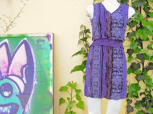 Purple 90s Dress