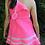 Thumbnail: Neon Pink Vintage Crochet Dress