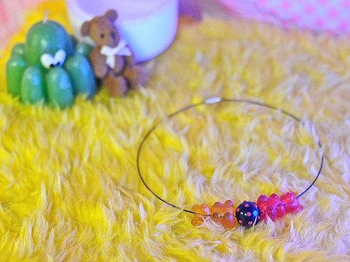 Y2K Gummy Bear Necklace
