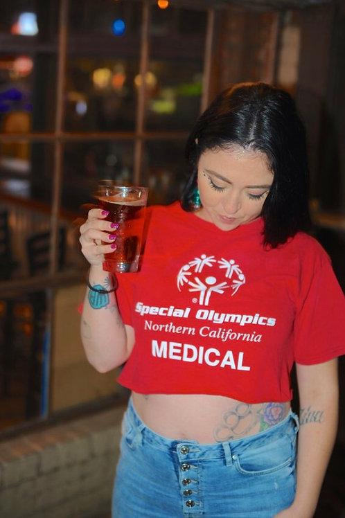 Special Olympics Medic Crop Top