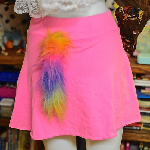 Neon Pink Creature Skirt