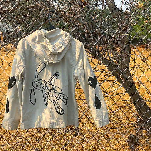 Hand Painted GAP Jacket