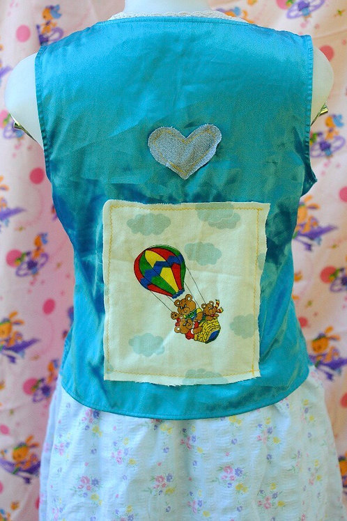 Up and Away Silk Vest