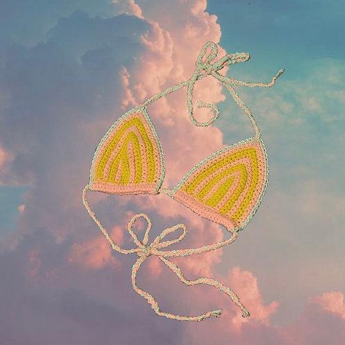 Pastel Dream Bikini Top