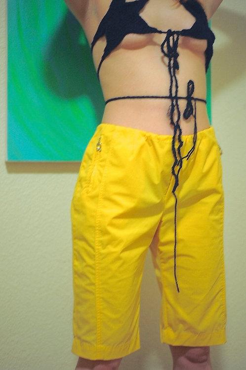 Handmade Yellow Shorts