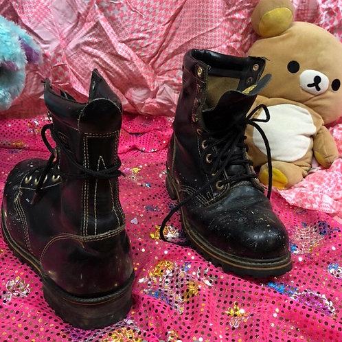 TEXAS STEER Steel Toe Boots