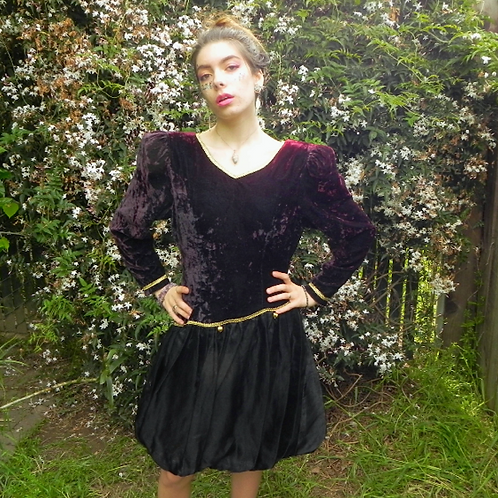 80s VOGUE Dress