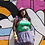 Thumbnail: Hello Kitty Blow Up Top M/L