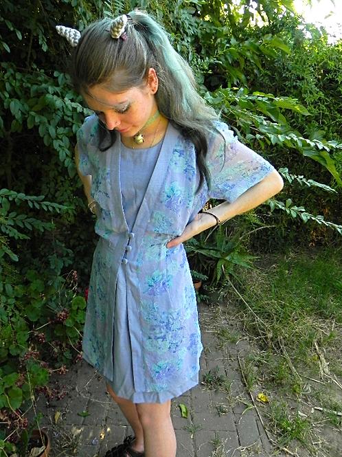 90s Periwinkle DRESSBARN Dress