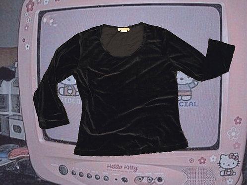 Black Velvet 3/4 Sleeve