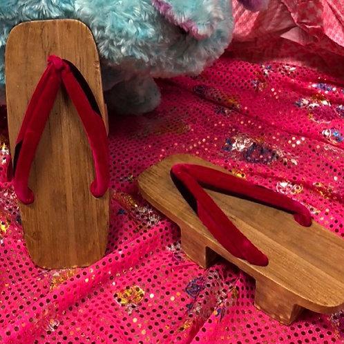 Vintage Geta Sandals