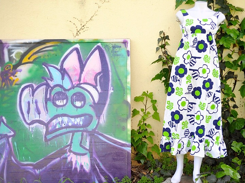 1960s NALLI HONOLULU Dress