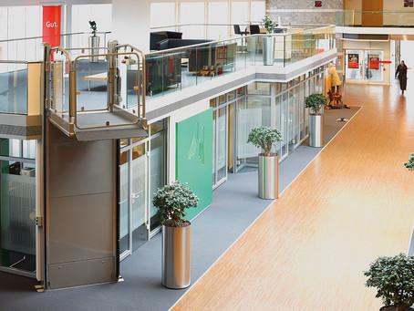 Spazio espositivo Service Lift