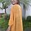 Thumbnail: Kimono em laise floral amarelo