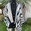 Thumbnail: Kimono Listrado Azul em Sarja