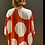 Thumbnail: Kimono maxi-poá em viscose