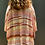 Thumbnail: Kimono curto em viscose listrado