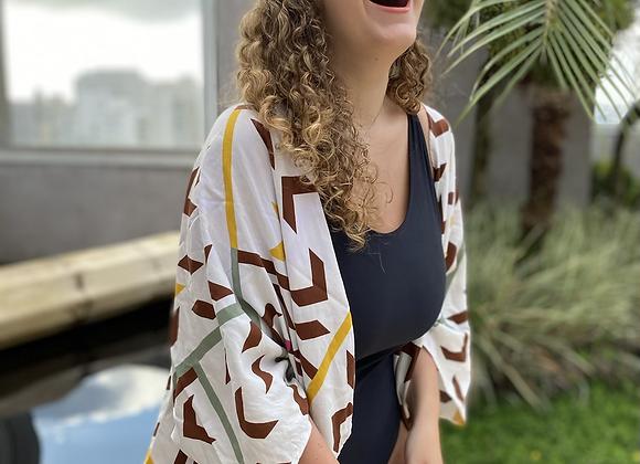 Kimono Geométrico Colorido