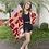 Thumbnail: Kimono maxi-poá magenta