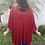 Thumbnail: Kimono em Malha com Lurex Vermelho