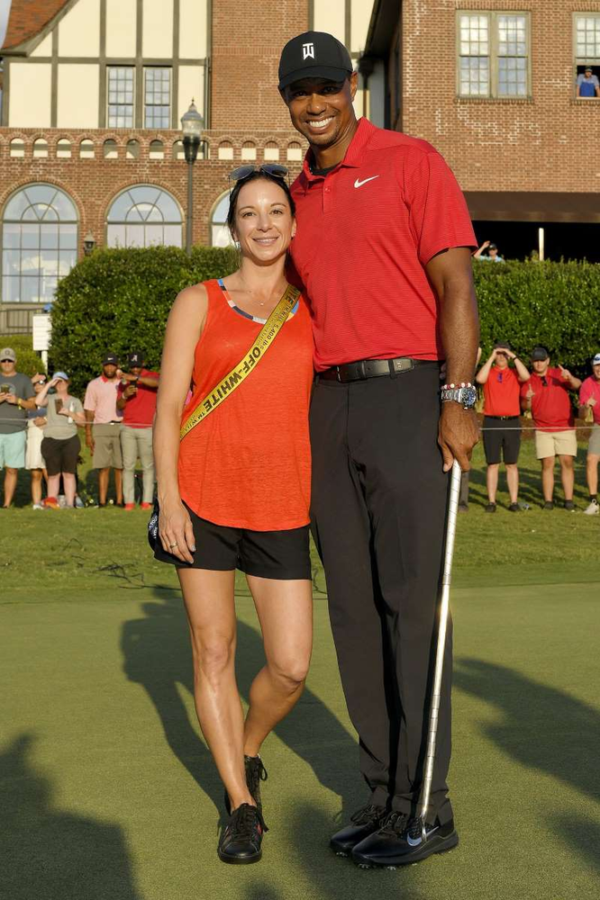 who is tiger woods u0026 39  girlfriend erica herman  everything to know
