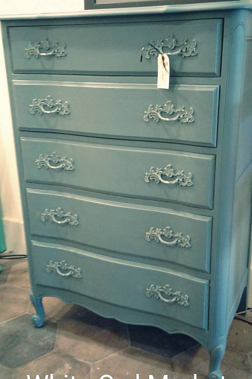 COASTAL/CHATEAU CHEST OF DRAWERS