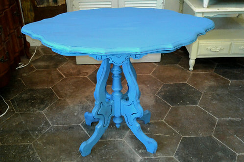 ANTIQUE REDESIGN COASTAL TABLE
