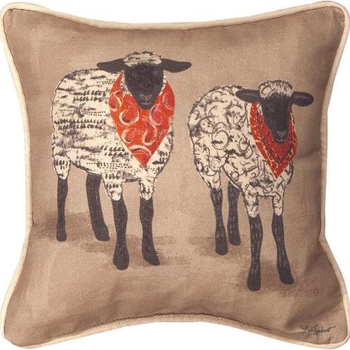 FARM LIFE SHEEP PILLOW