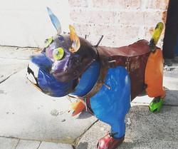 New Metal Work _#bulldogs #ilovebulldogs #metalart #homedecor #gardenart #metalart
