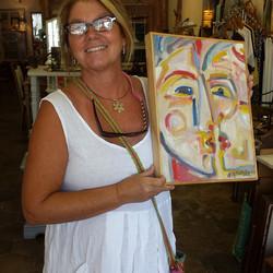 Another happy shopper_#art #walldecor #paintings #homedecor