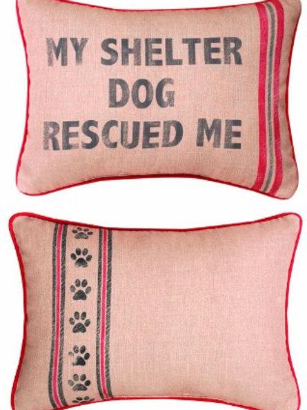 Shelter Dog Pillow