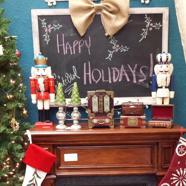 Happy Holidays _#whiteowlmarket #stpete #600block #crisliparcade #homedecor #furniture #funstuff #vi