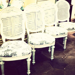 4 Romantic Chairs_#homedecor #shabbychic #cottagelife #furniture #funstuff #600blockstpete #instaBUR