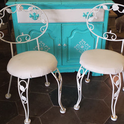 Fun, Fresh & Fancy_#iloveturquoise #makeoldnew #homedecor #recycle #funfinds