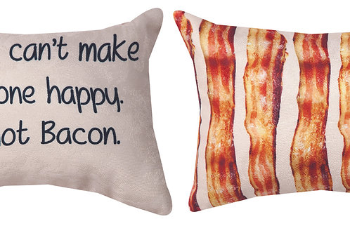 I'M NOT BACON PILLOW