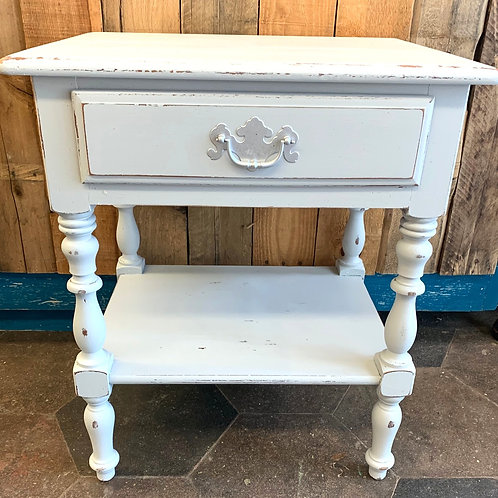 Grey Finished Side Table